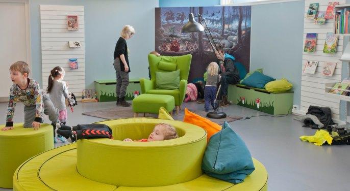 Børnebiblioteket på Frederiksværk Bibliotek